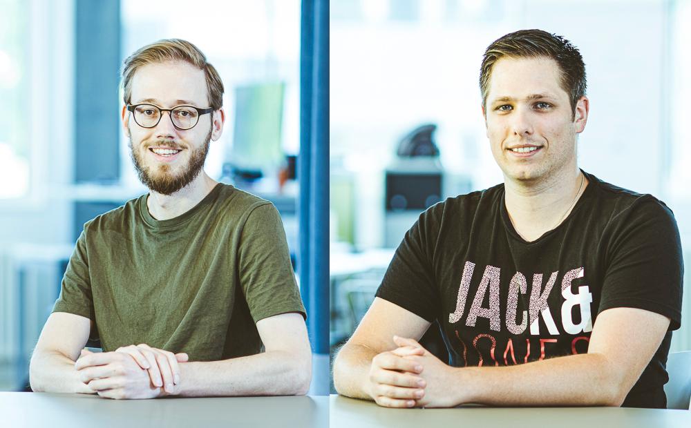 Neu im Lambda Team: Thomas und Matthias